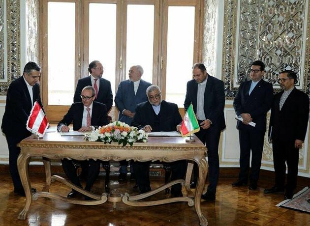 سند همکاریهای فرهنگی و هنری ایران و اتریش در تهران امضا شد