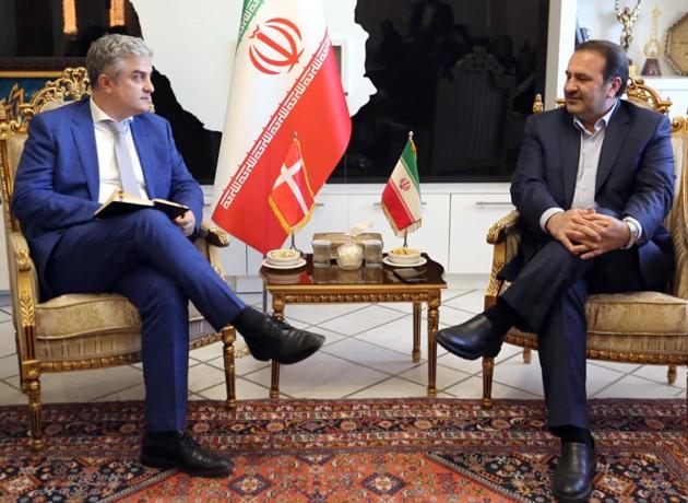 استاندار فارس: آماده گسترش مناسبات با دانمارک هستیم