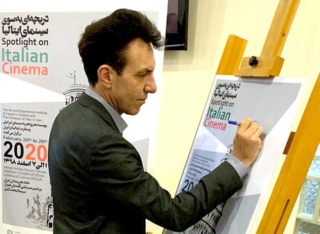 سفیر ایتالیا: هفته سینما، نماد دوستی ملتهای ایران و ایتالیا است