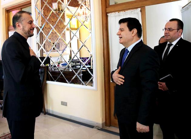 دیدار سفیر جمهوری عربی سوریه در تهران با امیرعبداللهیان