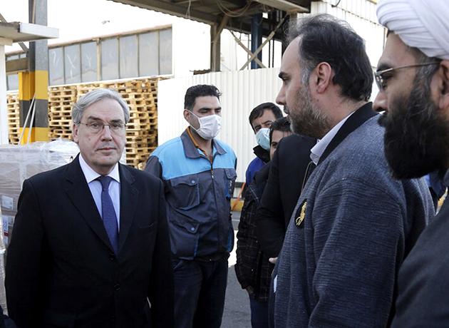 کمکهای بهداشتی فرانسه به ایران تحویل داده شد
