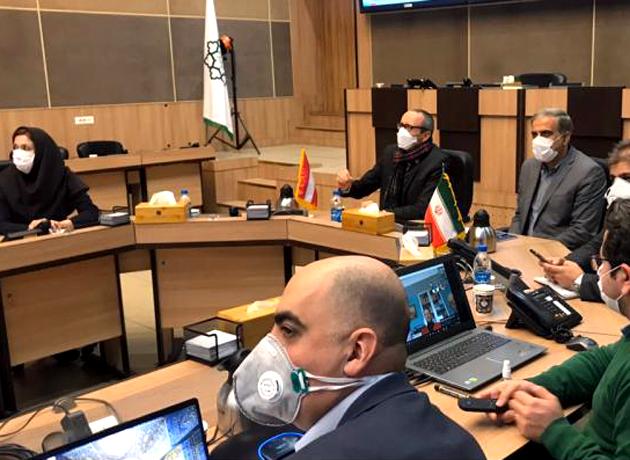 آمادگی برای برقراری خط آنلاین کرونا میان تهران و وین
