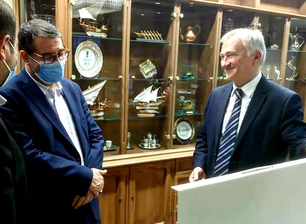 وزیر صمت در دیدار سفیر بلاروس: حاضریم تسهیلات برای بازرگانان دو طرف فراهم کنیم
