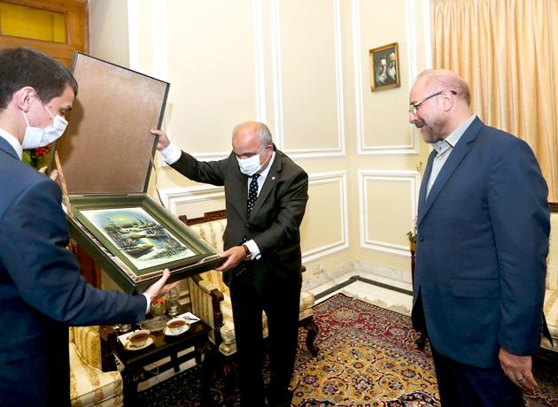 دیدار سفیر روسیه با محمدباقر قالیباف