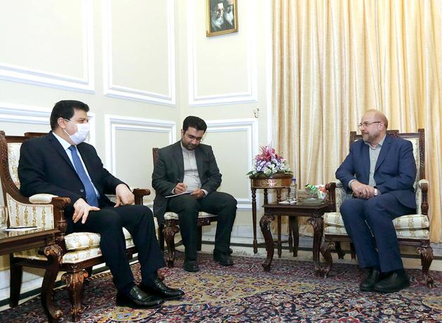 رئیس مجلس در دیدار سفیر سوریه: اعمال تحریم جدید ضد سوریه، شکست دشمنان در جنگ نظامی است