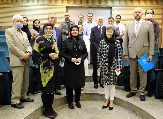 بازدید سفیر استرالیا  و نماینده UNODC از مرکز ملی مطالعات اعتیاد