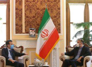 امیرعبداللهیان در دیدار با سفیر ایتالیا: ایران با تکیه بر توانمندیهای خود از تحریمها عبور میکند