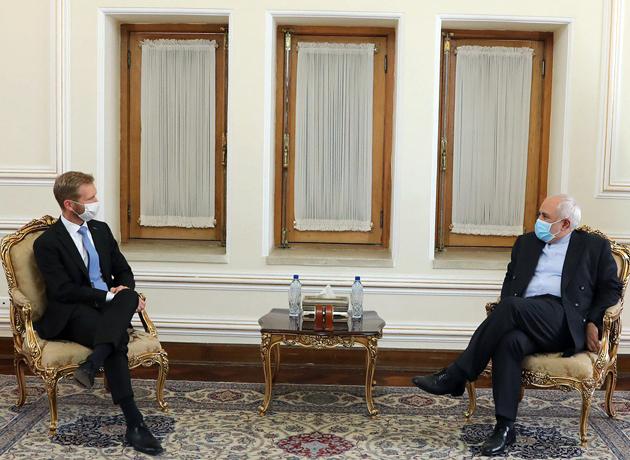 دیدار خداحافظی سفیر نروژ با وزیر امور خارجه