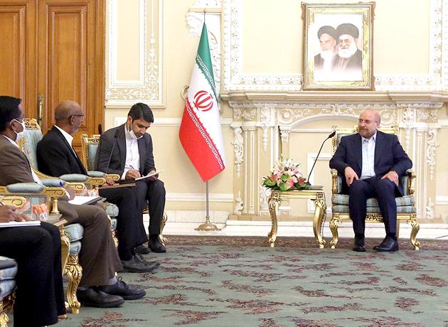 قالیباف: روابط ایران و هند عمیق و تاریخی است