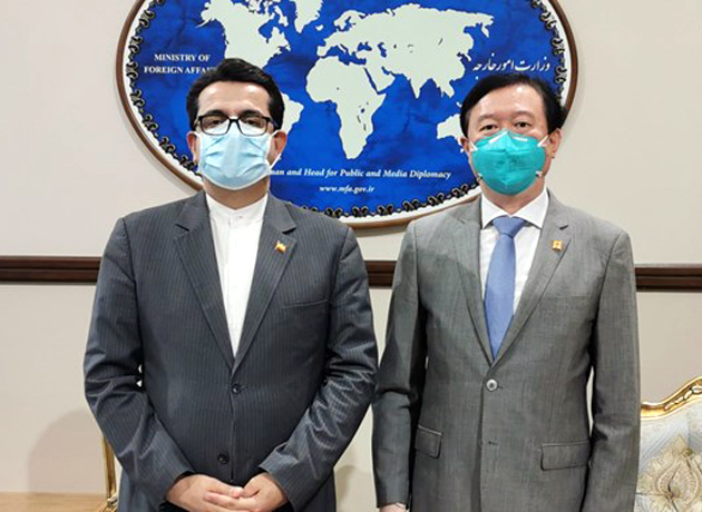 سفیر چین به دیدار سخنگوی وزارت خارجه رفت