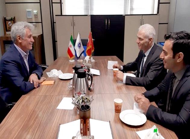 دیدار و تبادل نظر رایزن بازرگانی سفارت ترکیه و معاون امور بینالملل اتاق ایران