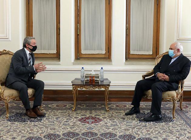 سفیر اسلواکی با دکتر ظریف دیدار و خداحافظی کرد
