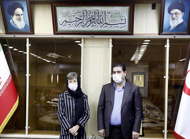 کمک صلیب سرخ استرالیا به ایران برای مدیریت بیماری کرونا